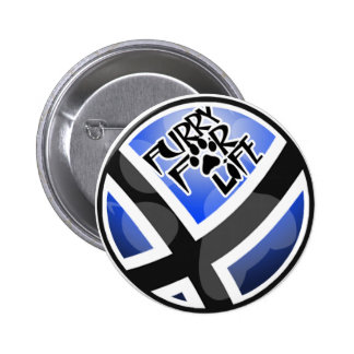 Furry For Life Pinback Button
