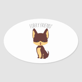 Furry Friends Sticker