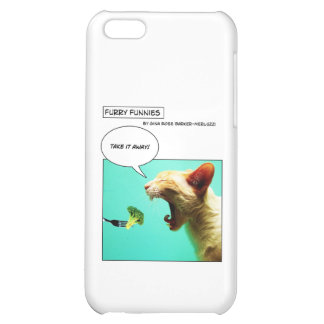 Furry Funnies ~ cat and broccoli iPhone 5C Cover