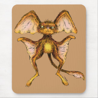 Furry Glider Mouse Pad