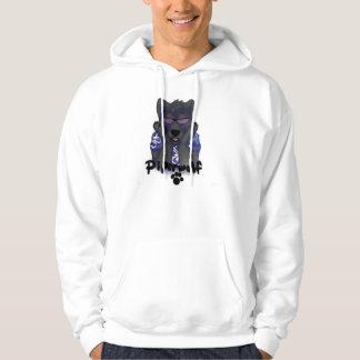 Furry ID & powered by tofu hoodie