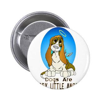 Furry Little Angels Pinback Button