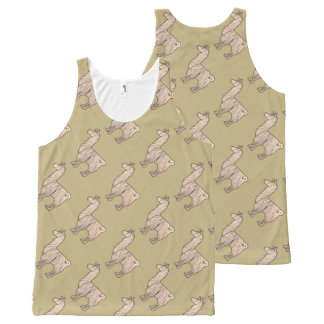 Furry Llama Tank Top Pattern