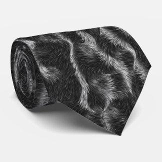 Furry looking necktie