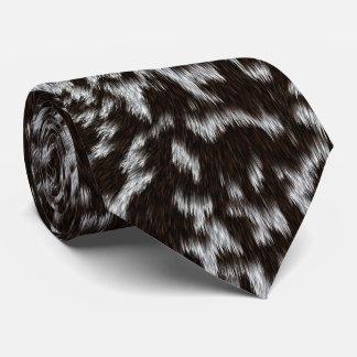 Furry looking tie