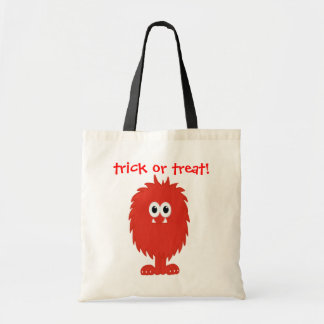 Furry Monster Budget Tote Bag