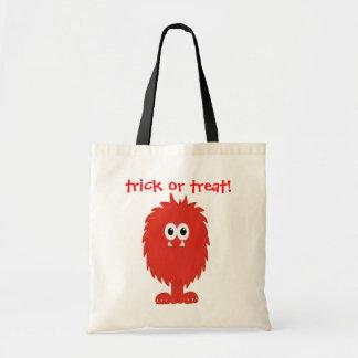 Furry Monster Tote Bag
