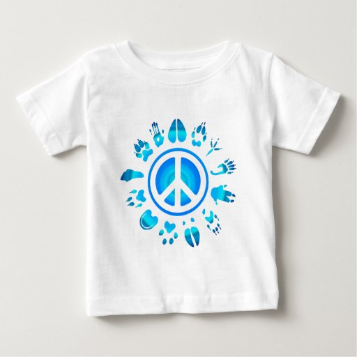 furry peace4 baby T-Shirt
