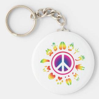 furry peace keychains