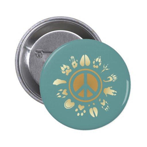 Furry Peace Pin