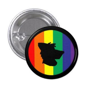 Furry Pride 1 Inch Round Button