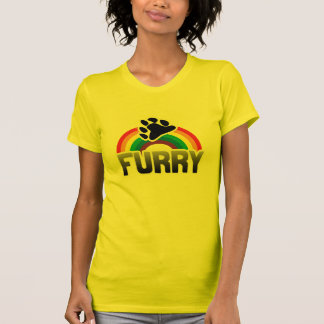 FURRY RAINBOW TSHIRT