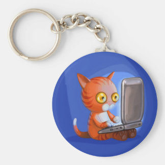 Furry Surfers: Ginger Keychain