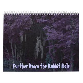 Further Down the Rabbit Hole Calendar