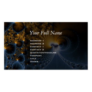 Further - Fractal Art Business Card