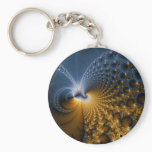 Further - Fractal Art Keychain