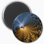 Further - Fractal Art Magnet
