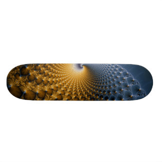 Further - Fractal Art Skate Board
