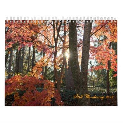 Further Wanderings Calendar