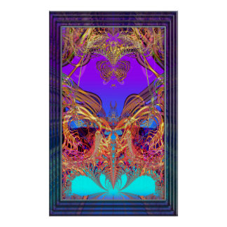 Furtive Inclination Variation 7  Art Print