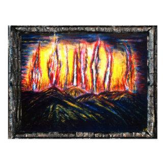 Fury Fires Postcard