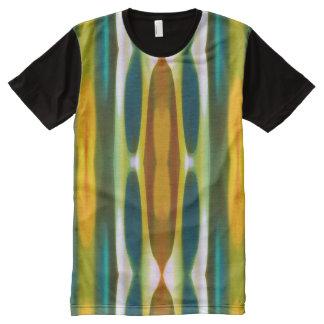 Fury Forest Fall Pattern Modern Art All-Over-Print T-Shirt