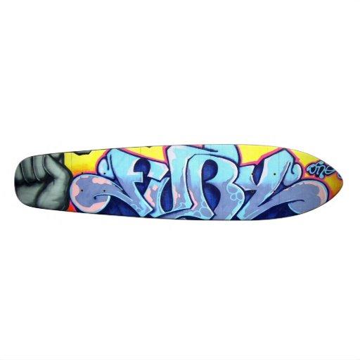 fury skate board deck