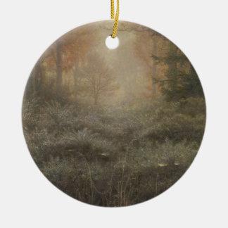 Furze Rocío-Mojado de John Everett Millais Adorno Redondo De Cerámica