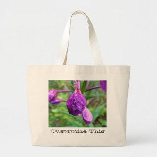 Fuschia Fury; Customizable Jumbo Tote Bag
