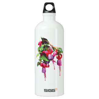 Fuschia Marshia Aluminum Water Bottle
