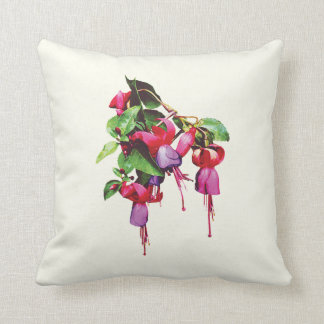 Fuschia, Marshia Throw Pillow