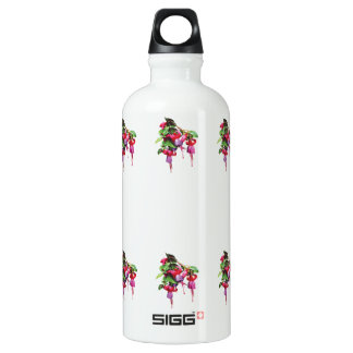 Fuschia Marshia Water Bottle