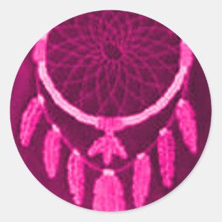 'Fuschia Night' Sticker