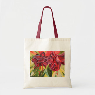 Fuschia Oil Painting Print Bag By Joanne Casey