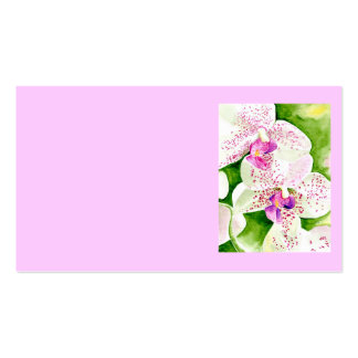 Fuschia Orchid Business Cards
