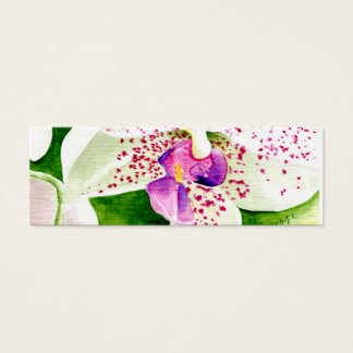 Fuschia Orchid Profile Card