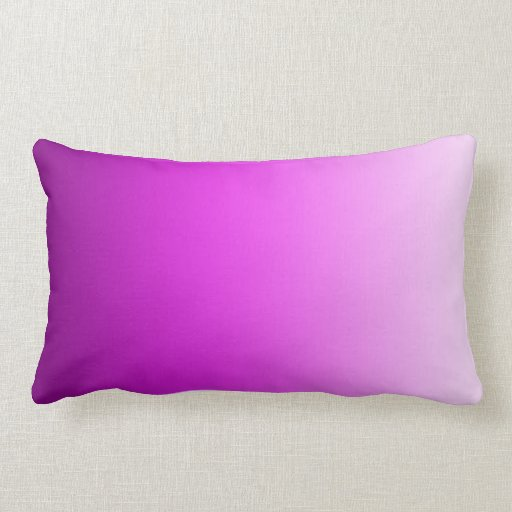 Modern Lumbar Pillows : Fuschia Pink Modern Art Lumbar Pillow Zazzle