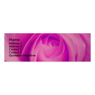 Fuschia Rose, S Cyr Business Card