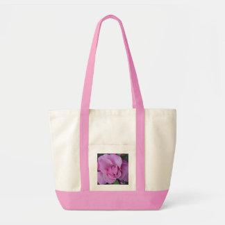 Fuschia Rose Tote Impulse Tote Bag