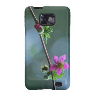 Fuschia Wildflower Galaxy S2 Cover
