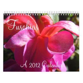 Fuschias 2012 II Wall Calendars