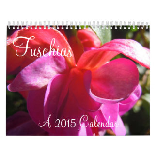 Fuschias 2015 II Wall Calendars