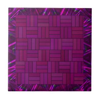 Fuscia Purple Mosaic Tiles Ceramic Tile