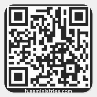 Fuse Student Ministries QR Sticker