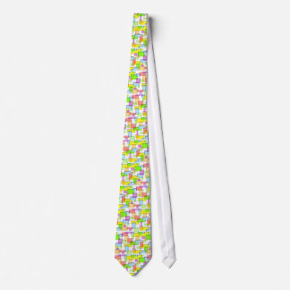 fused glass pattern graphic design tie