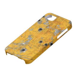 Fuselaje de aviones del vintage (agujeros de bala) iPhone 5 protectores
