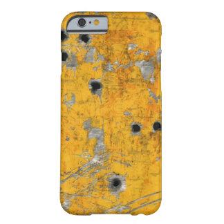 Fuselaje de aviones del vintage (agujeros de bala) funda de iPhone 6 barely there