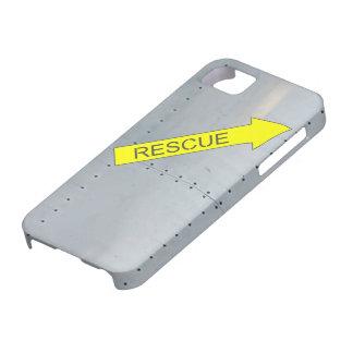 Fuselaje de aviones (manija del rescate) iPhone 5 fundas