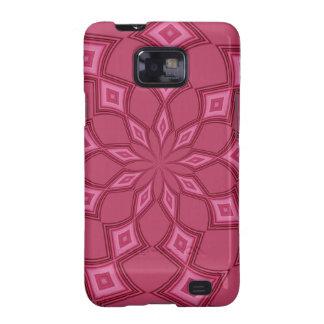 Fushia Diamonds Samsung Galaxy S Case
