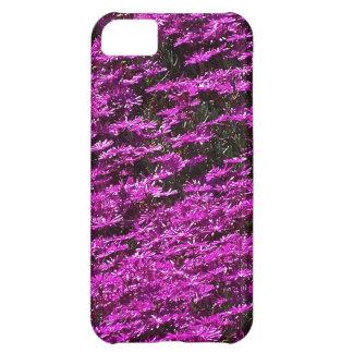 fushia flowers iPhone 5C cases